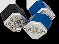 Quantenkoffer Spielsteine: Periskop, Strahlteiler und Faserkoppler.